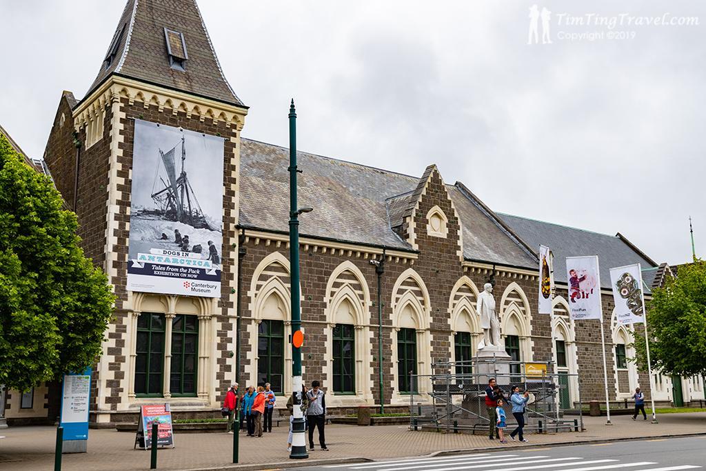 #1 Canterbury Museum (坎特伯雷博物館)