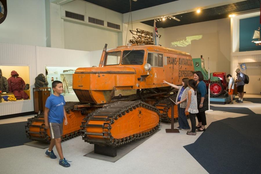 #1 Canterbury Museum (坎特伯雷博物館):通往南極的門戶 - 基督城