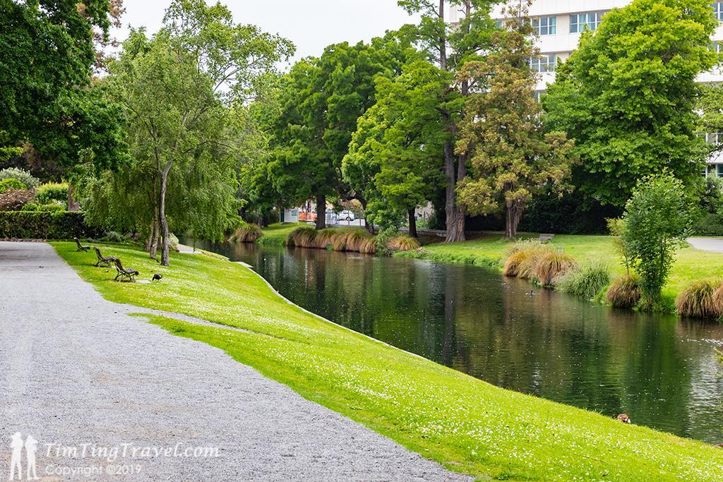 #2 Christchurch Botanic Garden (基督城植物園):Avon River (雅芳河)