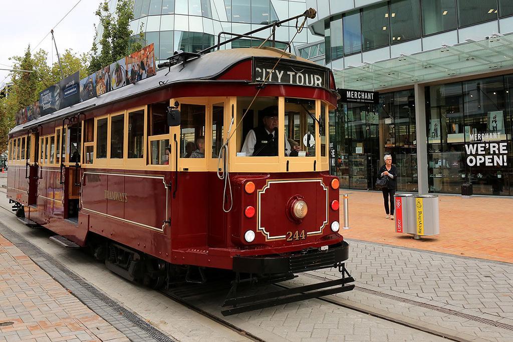 #5 Christchurch Tram (基督城復古電車)