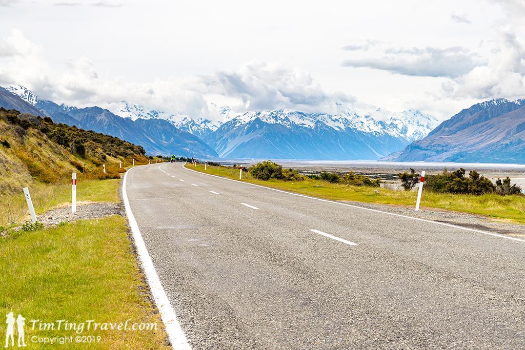 Queenstown 到 Mt Cook 沿途景點