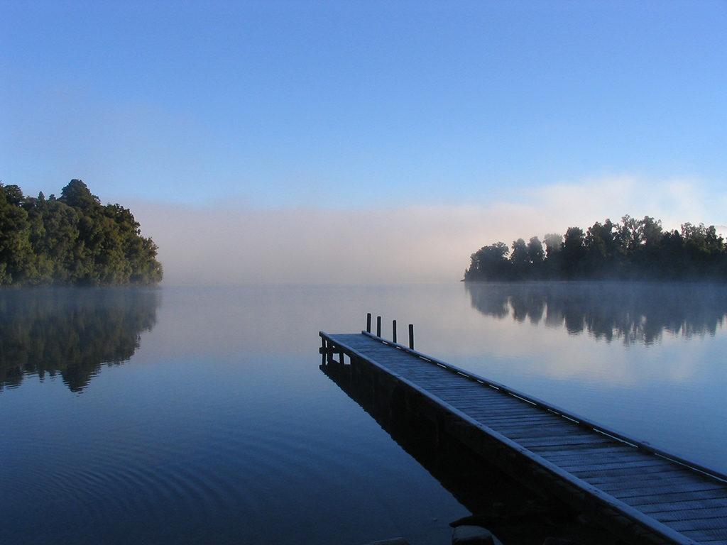 西海岸必訪景點 #3:Lake Mapourika (梅普里卡湖)