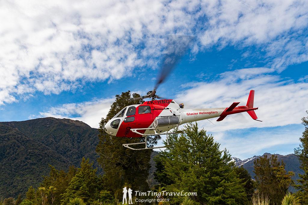 直升機單趟飛行時間約5分鐘