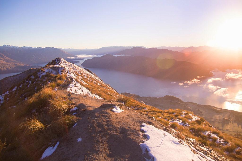 Wanaka Hiking Trail Top#1 : Roy's Peak Trail (羅伊峰步道)
