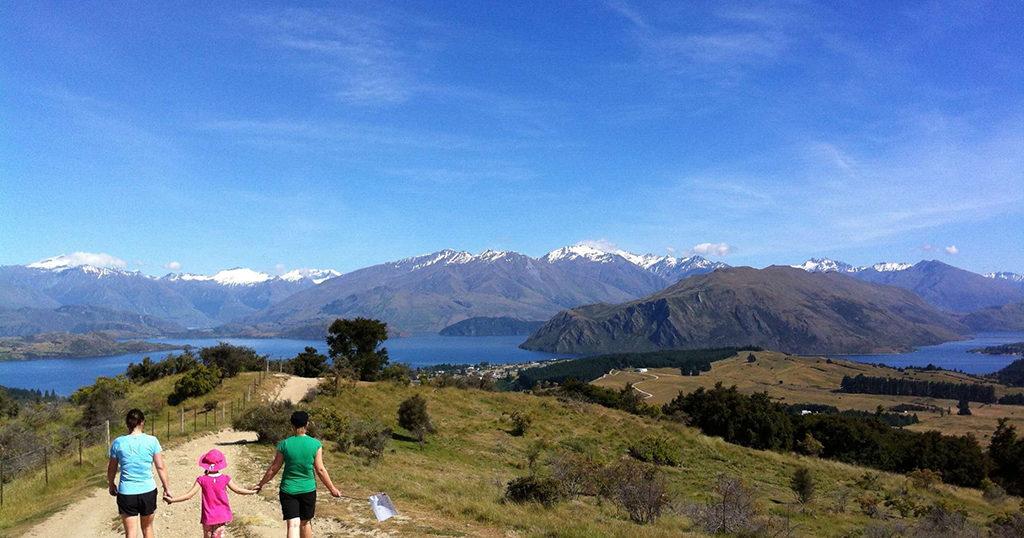 Wanaka Hiking Trail Top#5 : Mt Iron Trail (熨斗山步道)
