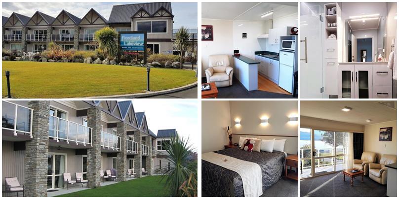 紐西蘭住宿 - 蒂阿瑙小鎮 (Te Anau):中價位 - Fiordland Lakeview Motel and Apartments [公寓式汽車旅館]