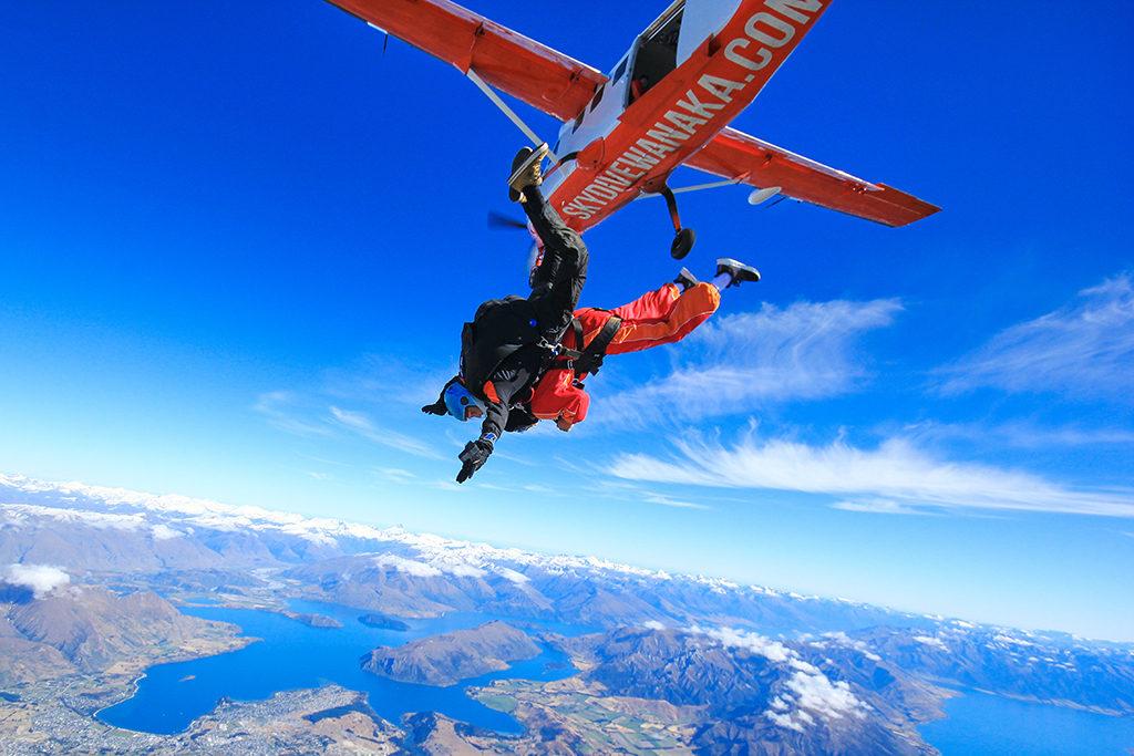 皇后鎮 必遊景點#7-2:Wanaka Skydive - 最美的跳傘地點