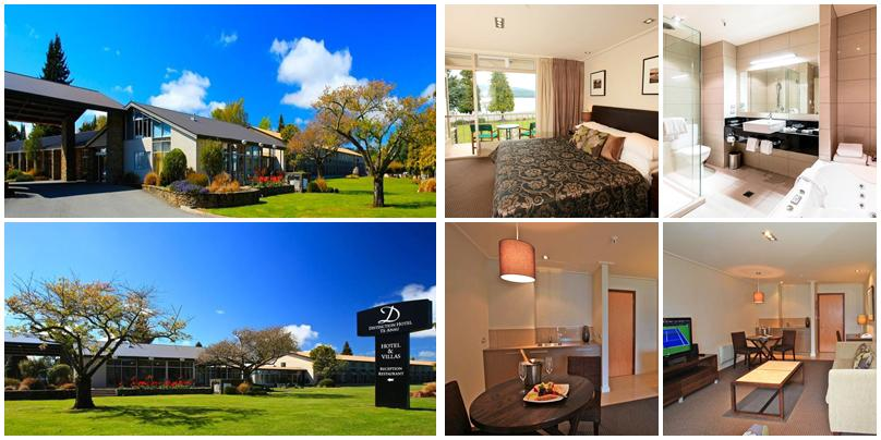 紐西蘭住宿 - 蒂阿瑙小鎮 (Te Anau):高價位 - Distinction Te Anau Hotel & Villas [湖景別墅]