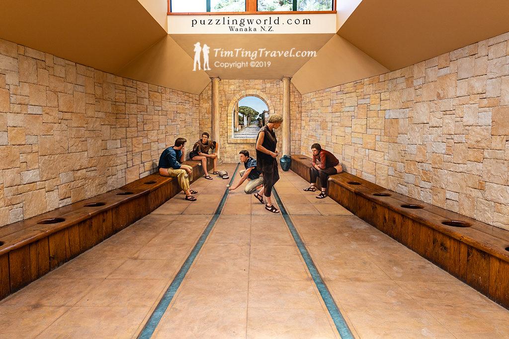 Puzzling World (迷惑世界) 的公共廁所