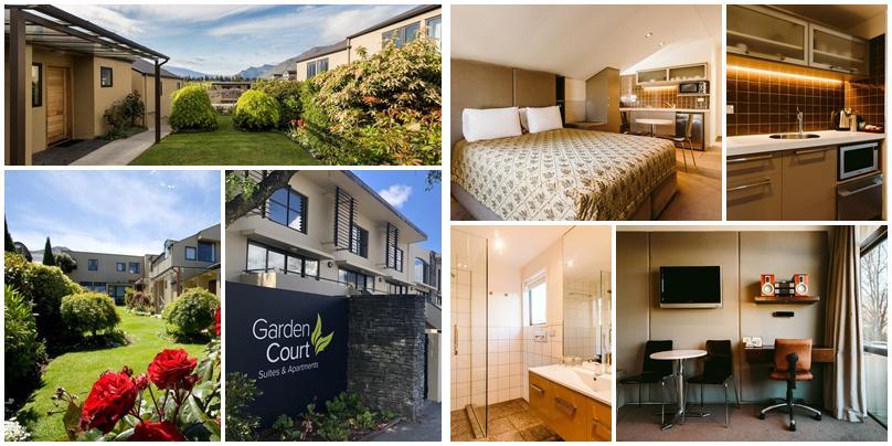 紐西蘭住宿 - 皇后鎮 (Queenstown):中價位 - Garden Court Suites & Apartments [公寓式飯店]