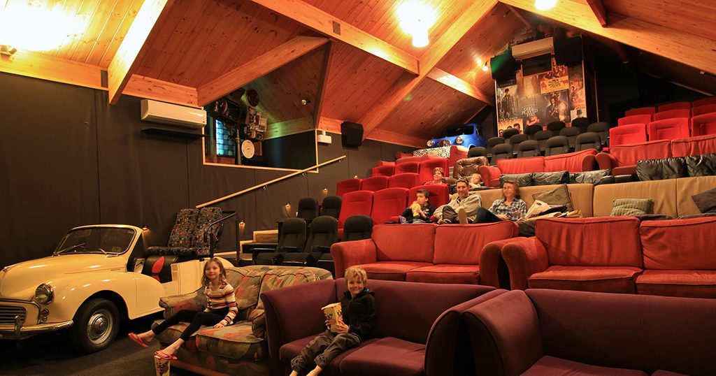 Cinema Paradiso 電影院的內部裝潢