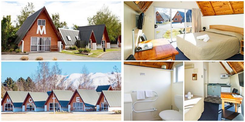 紐西蘭住宿 - Twizel (特威澤爾):低價位 - Mountain Chalets Motel [汽車旅館]