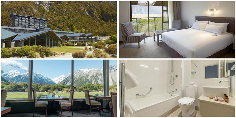 紐西蘭住宿 - Mt. Cook (庫克山):高價位 - The Hermitage Hotel Mt Cook [飯店]