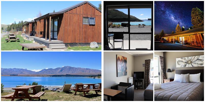 紐西蘭住宿 - Tekapo (特卡波):中價位 - Lake Tekapo Motels & Holiday Park [小木屋汽車旅館]
