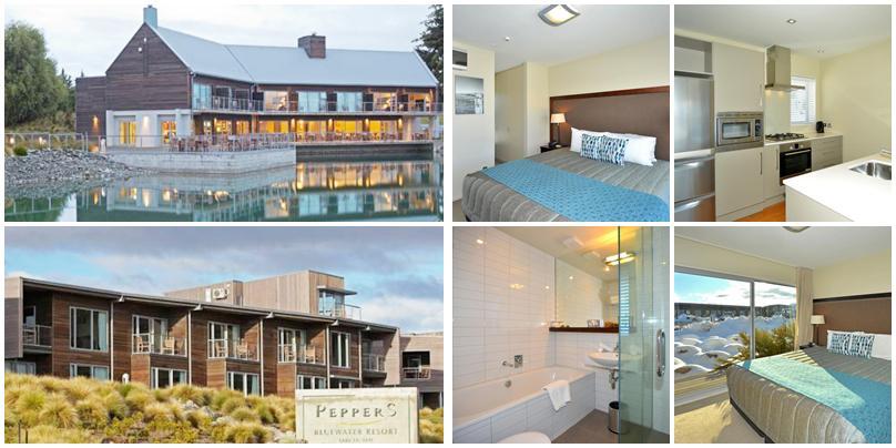 紐西蘭住宿 - Tekapo (特卡波):高價位 - Peppers Bluewater Resort [度假村]