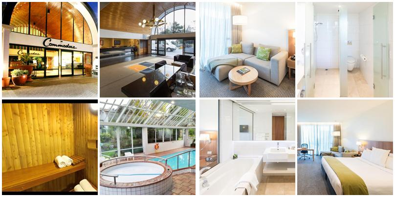 紐西蘭住宿 - 基督城:高價位 - Commodore Airport Hotel Christchurch [飯店]