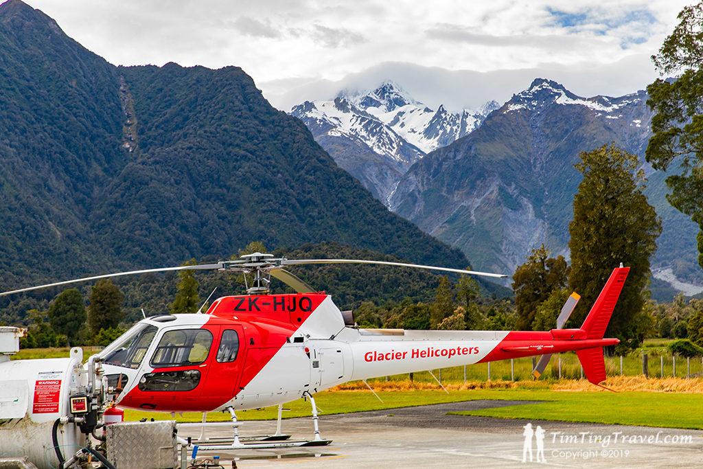Fox Glacier (福克斯冰河小鎮) 必遊景點#1:Fox Glacier Heli-Hiking (直升機冰河健行)
