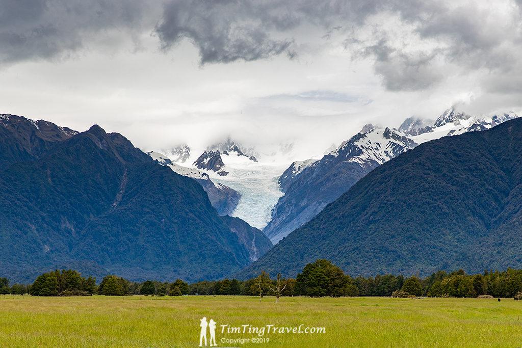 Fox Glacier (福克斯冰河小鎮) 必遊景點#3:Fox Glacier Lookout (福克斯冰河景觀台)
