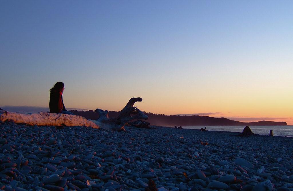 Fox Glacier (福克斯冰河小鎮) 必遊景點#5:Gillespie Beach