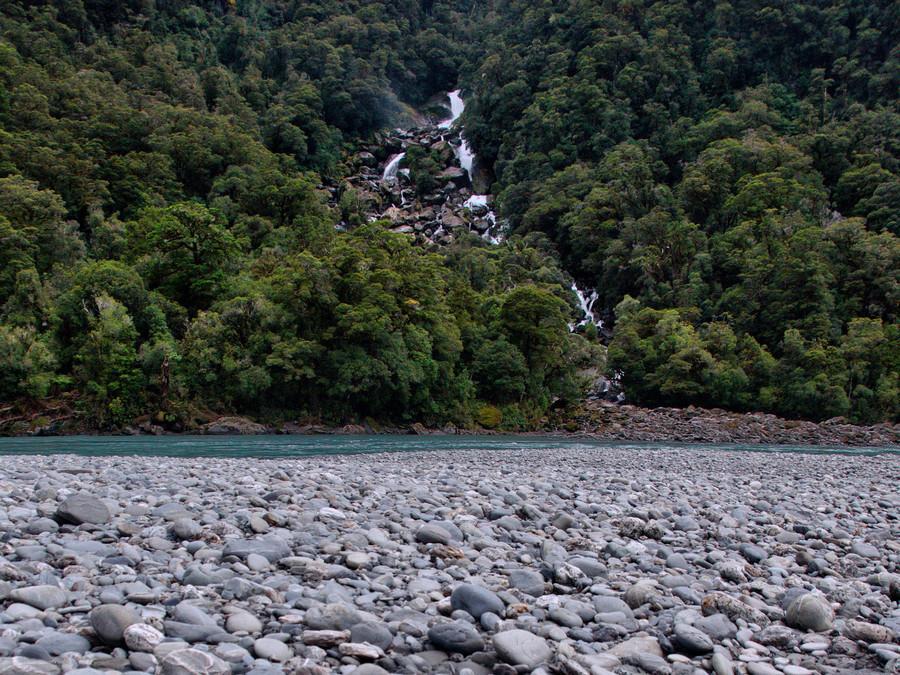 Fox Glacier 到 Wanaka 沿途景點 - #4.2 Roaring Billy Falls (咆哮比利瀑布)