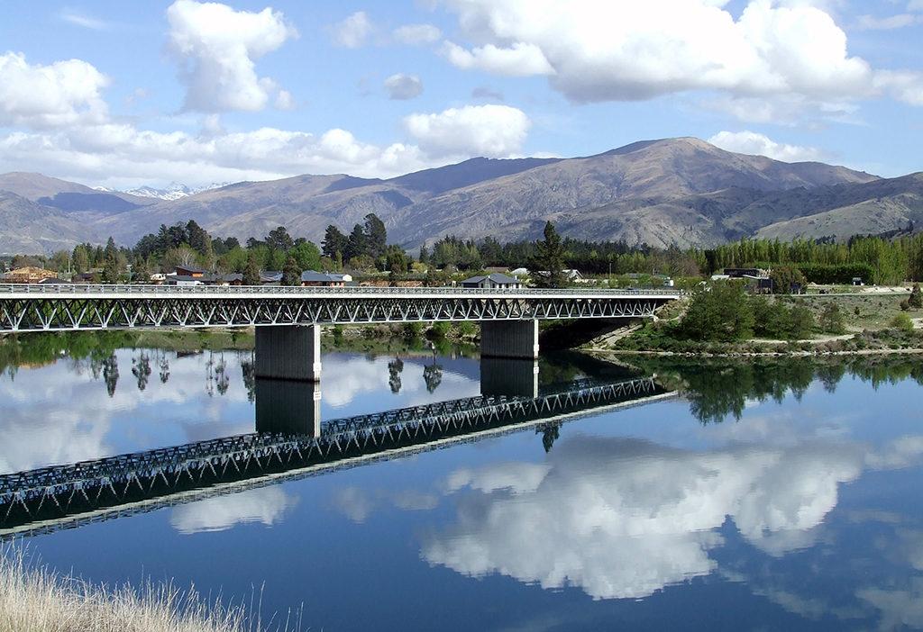 Cromwell 必遊景點#3.2 - Deadmans Point Bridge @Lake Dunstan (鄧斯坦湖)