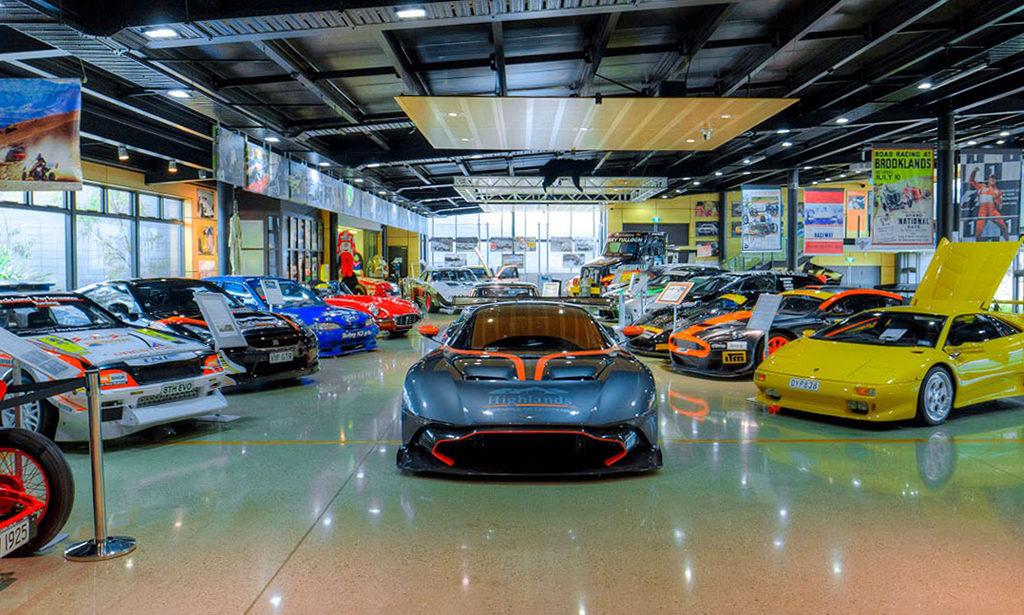 Highlands 最高人氣的景點:賽車博物館