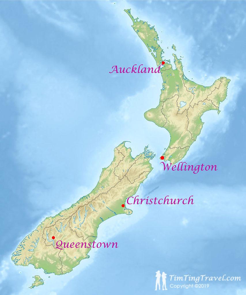 紐西蘭前行準備#1 - 紐西蘭簡介