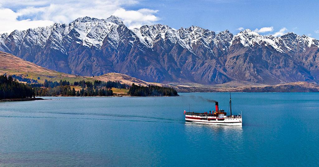 Lake Wanaka 最著名行程 TSS Earnslaw Steamship Cruises (TSS蒸汽船遊湖觀光)