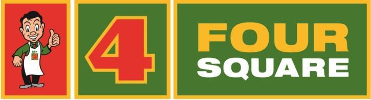紐西蘭超市簡介 #5 FOUR SQUARE logo