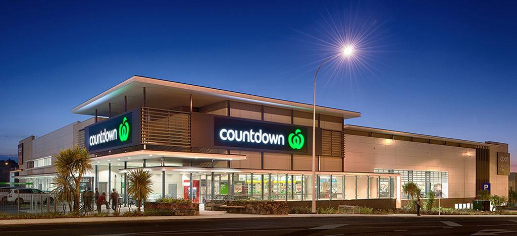 紐西蘭規模最大超市 countdown: 外觀與標誌