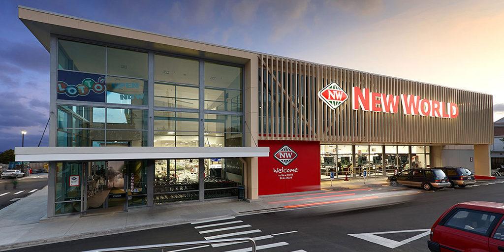紐西蘭規模第二大之超市 New World: 外觀與標誌