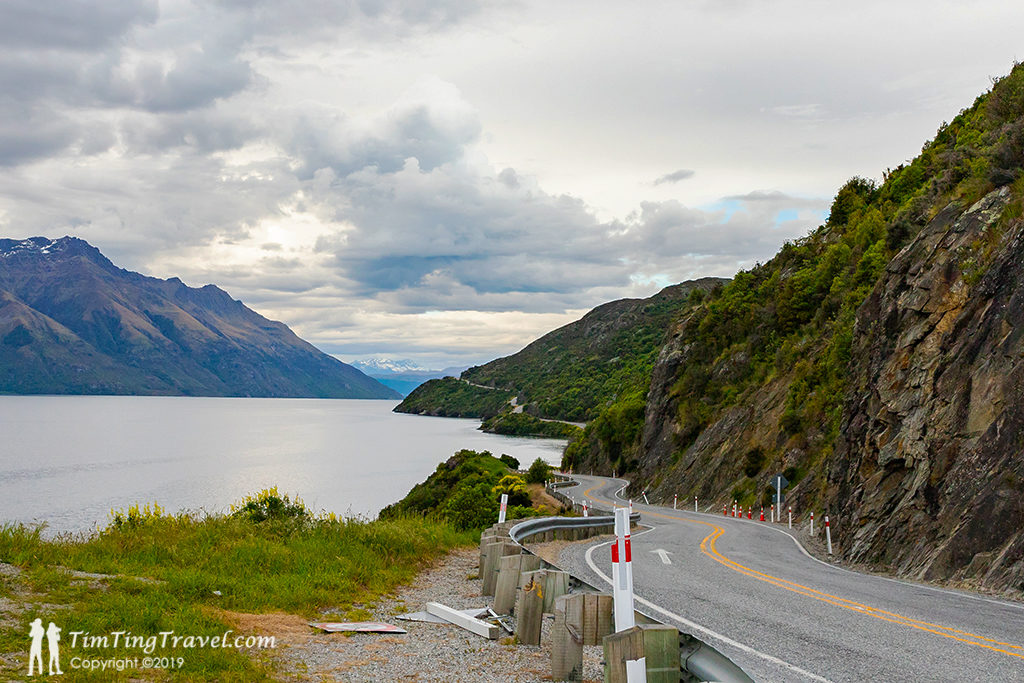 Queenstown 到 Te Anau 沿途景點 #1 - Devil's Staircase Lookout Point (惡魔的階梯觀景台)