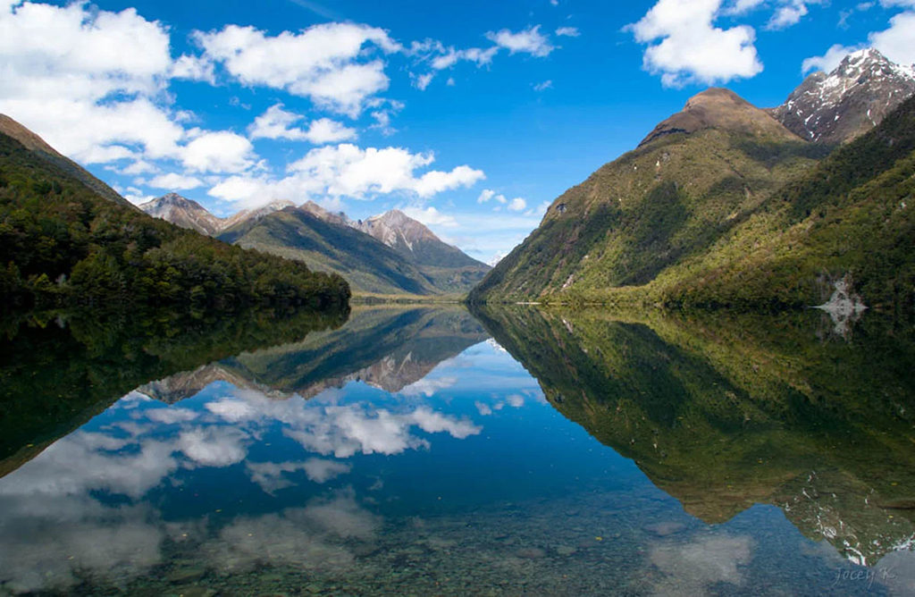 Te Anau 到 Milford Sound 沿途景點 #3 - Lake Gunn Nature Walk (岡恩湖步道)
