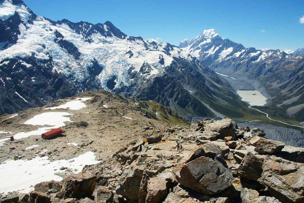 Mt. Cook 推薦步道 & 必遊景點 #3-3:Mueller Hut Track (穆勒小屋路線)