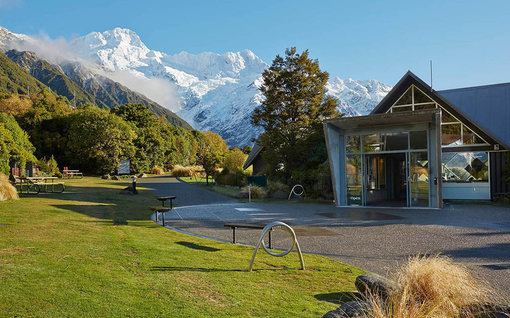 Mt. Cook 推薦步道 & 必遊景點 #4 - Aoraki Mt. Cook National Park Visitor Centre (庫克山遊客中心)