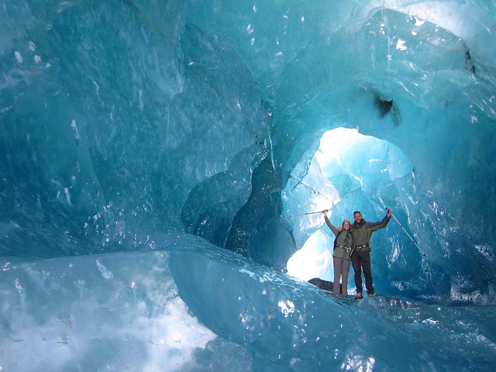 Mt. Cook 推薦步道 & 必遊景點 #5-1 - Tasman Glacier Heli-Hiking (塔斯曼冰河健行)