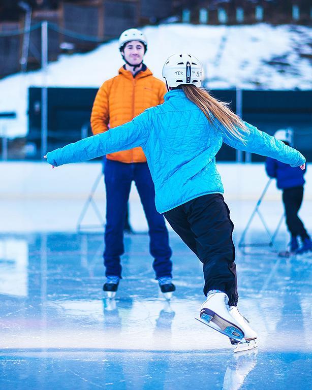 Tekapo Springs 冬季限定活動:戶外溜冰場