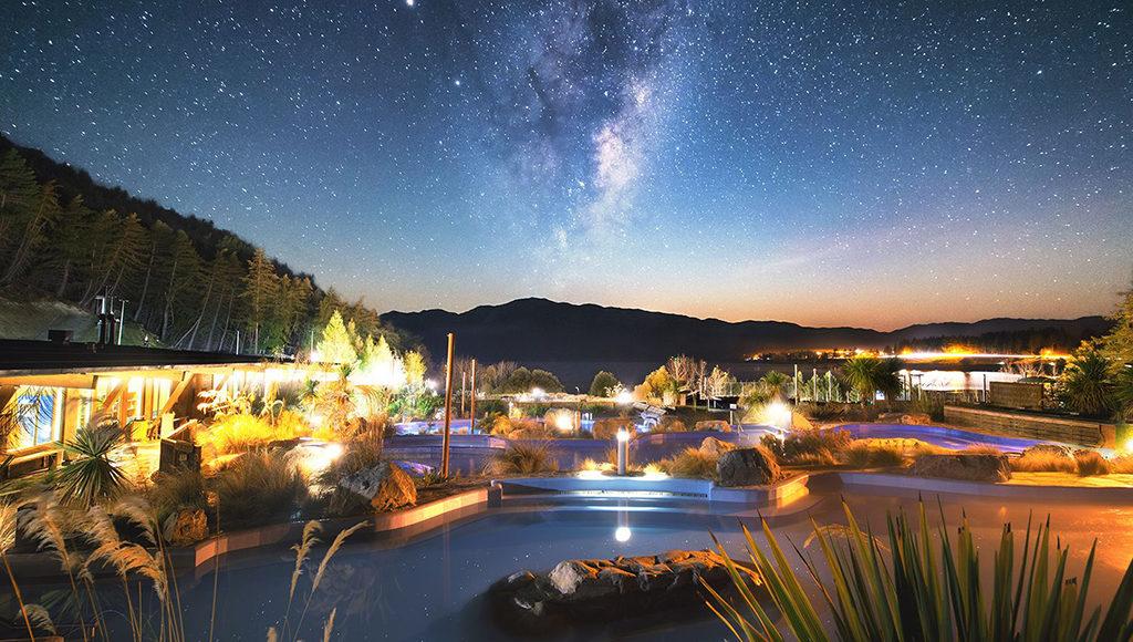 Tekapo Springs 夜間限定活動:觀星體驗