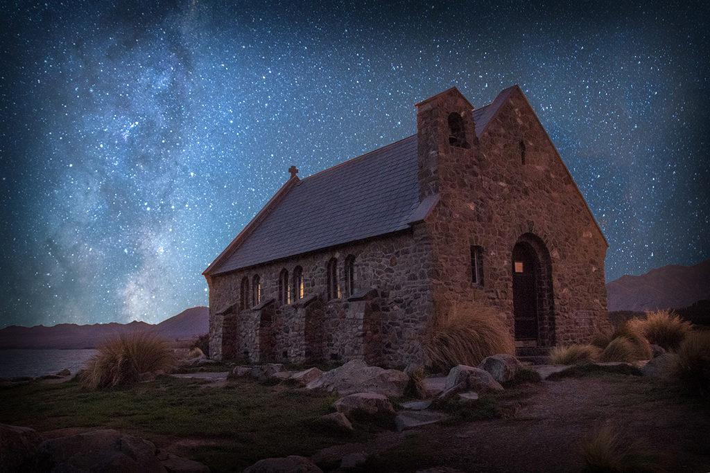 Church of the Good Shepherd (善良牧羊人教堂) 必訪景色:Night Sky Tours (觀星行程)