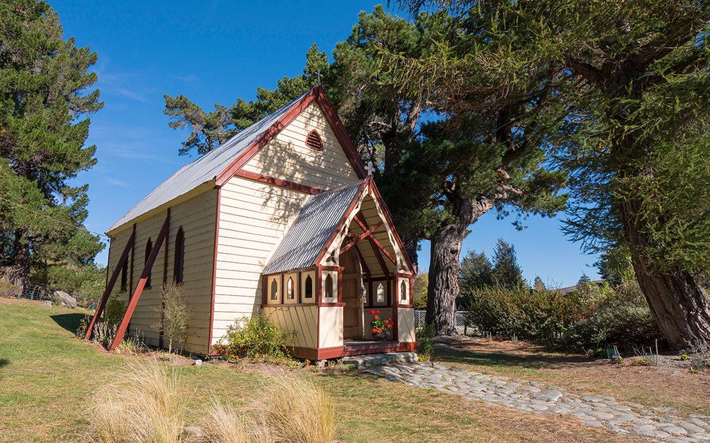 Burkes Pass (柏克斯通道) 景點:Historic St Patrick's Church (聖帕特里克教堂)