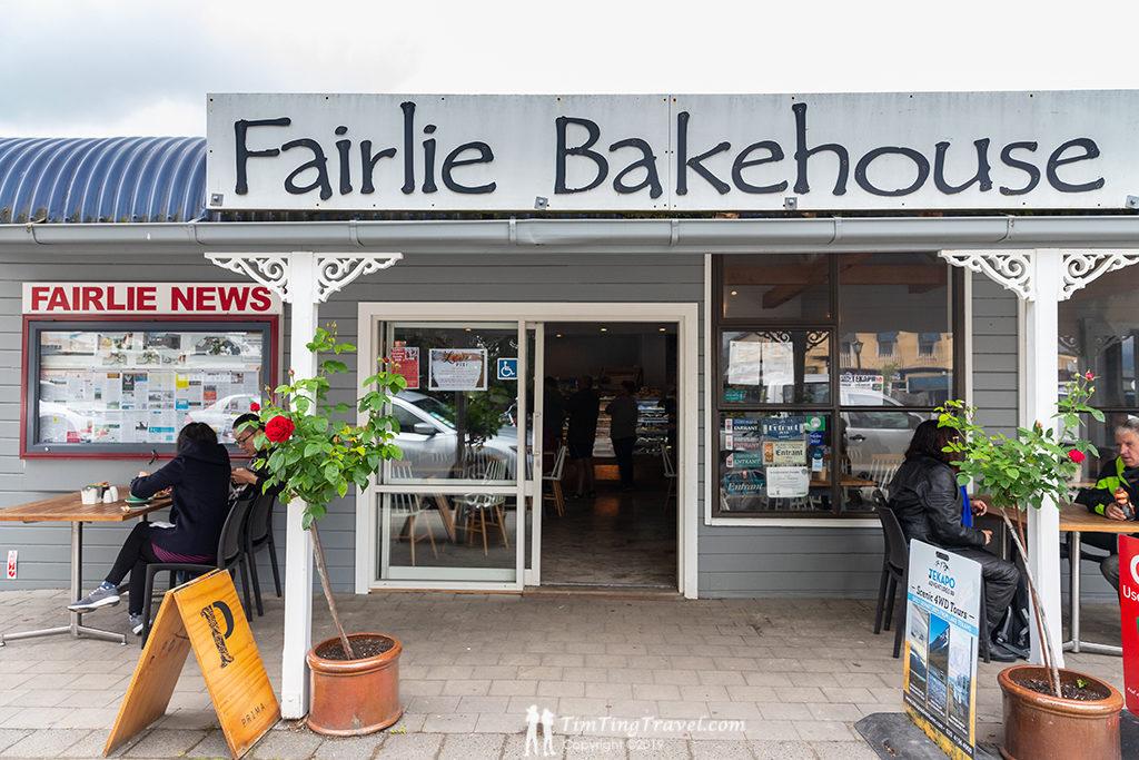 Tekapo 到 Christchurch 沿途景點#3.2 - Fairlie Bakehouse (費爾利麵包房)