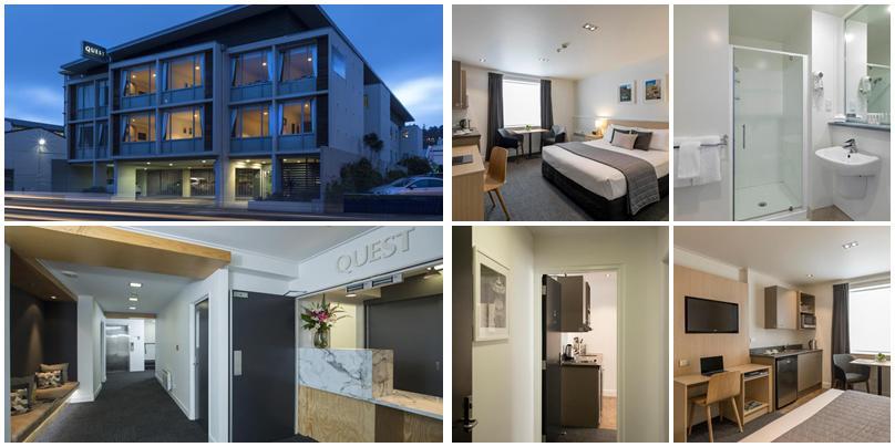 紐西蘭住宿 - Dunedin (但尼丁):低價位 - Quest Dunedin Serviced Apartments [公寓式飯店]