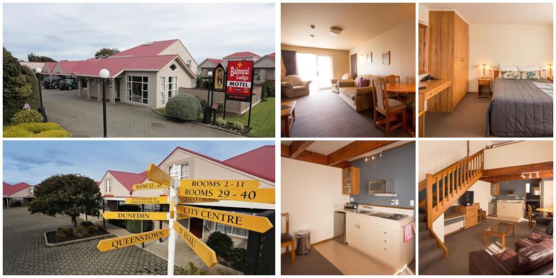 紐西蘭住宿 - Invercargill (因弗卡吉爾):低價位 - Balmoral Lodge Motel [汽車旅館]