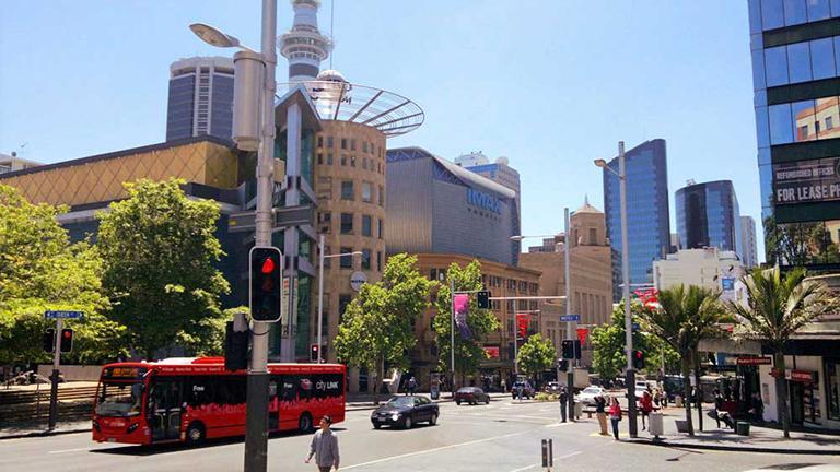 Auckland 必遊景點 #1.2 Queen Street (皇后街)