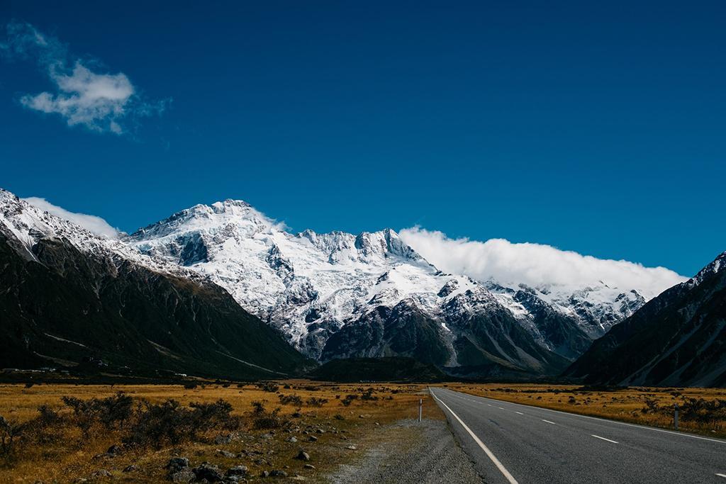 Queenstown 到 Mt Cook 沿途景點 #10 - Mt. Cook Rd Lookout (庫克山公路景觀台)