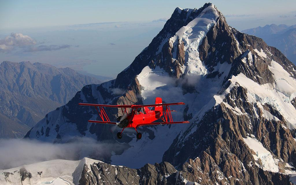 Twizel 小鎮 必遊景點 #5 - Red Cat Biplane Flights (紅貓雙翼飛機體驗)