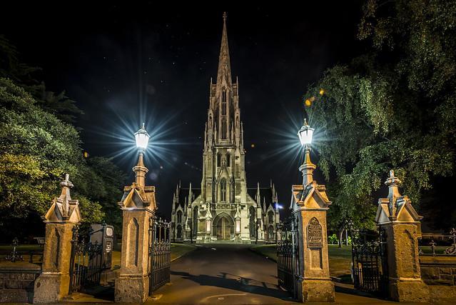 The Octagon (八角廣場) 景點 - First Church of Otago (奧塔哥第一教堂)