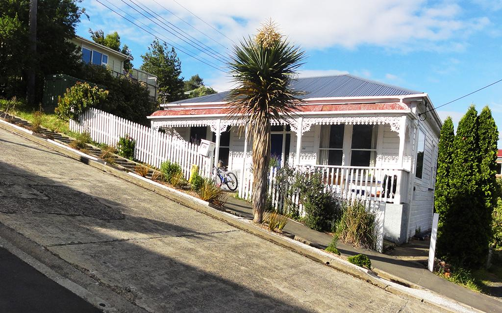 Dunedin 必遊景點 #3 - Baldwin Street (鮑德溫街)
