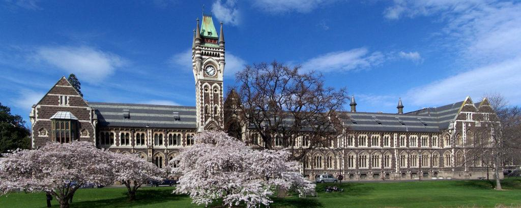 Dunedin 必遊景點 #4 - University of Otago (奧塔哥大學)