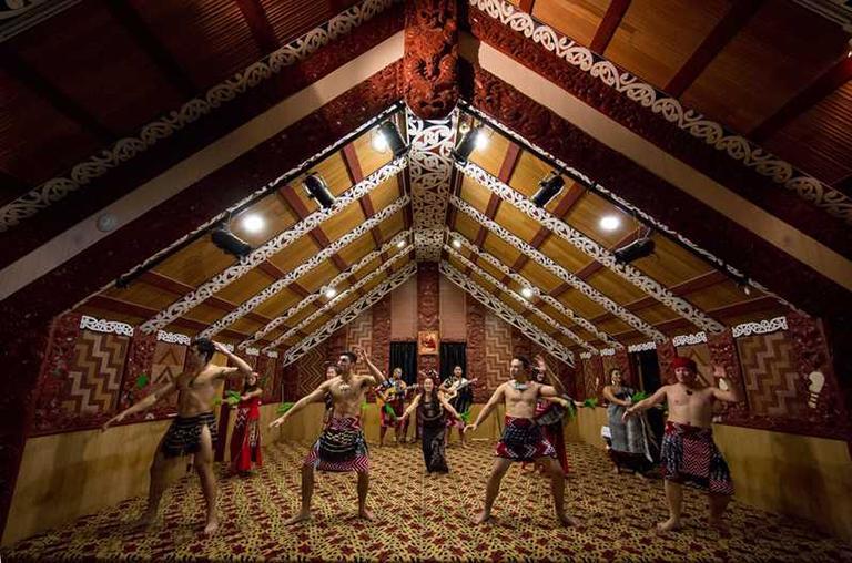 Te Puia (蒂普亞) 的毛利文化與表演